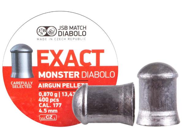 Exact Monster Diablo 4,5mm resmi