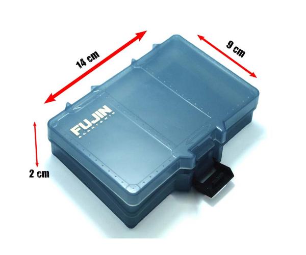 Fujin Tackle Box Küçük Gri Evalı resmi